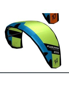 Flysurfer Stoke1 -14/Infinity III Airstyle bar/liner/Rush1 Board